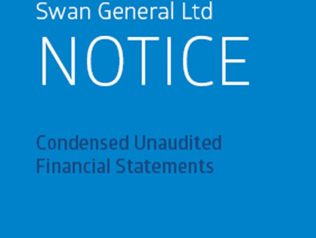 SWAN General Ltd - Notice - Condensed Unaudited Financial Statements - Quarter Ended 30 June 2015