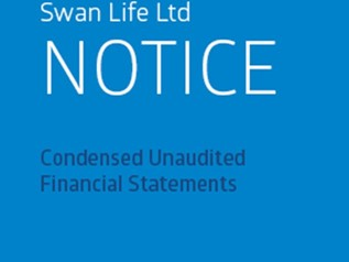 Swan Life Ltd - Notice Condensed Unaudited Financial Statements for Nine months and Quarter Ended September 30, 2015 (1)