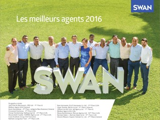 SWAN Annual Agents Award 2016 : Assurances et plan d'investissement en progression
