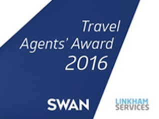 SWAN Travel Agents Award 2016