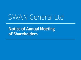 SWAN General Ltd - Notice of Annual Meeting of Shareholders (1)